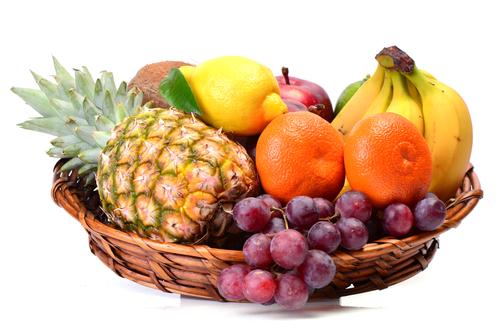 Basket of Fresh Fruit for Oviedo Real Estate Home