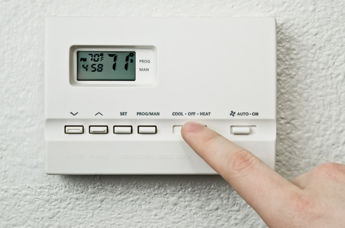 Thermostat in Boca Raton Luxury Homes