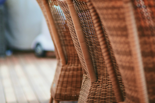 Cape Coral Luxury Chairs Wicker Chairs Closeup