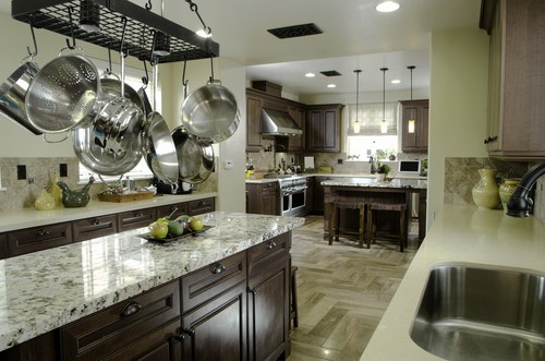 Model Home Kitchen in Coral Gables Luxury Homes