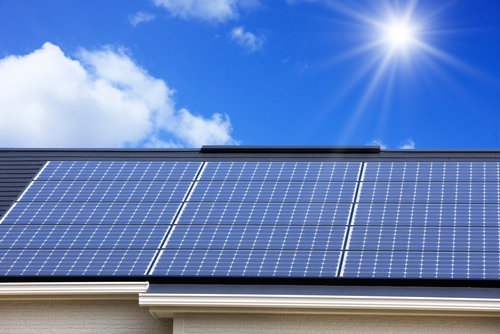 Orlando Luxury Homes with Roof Solar Panels