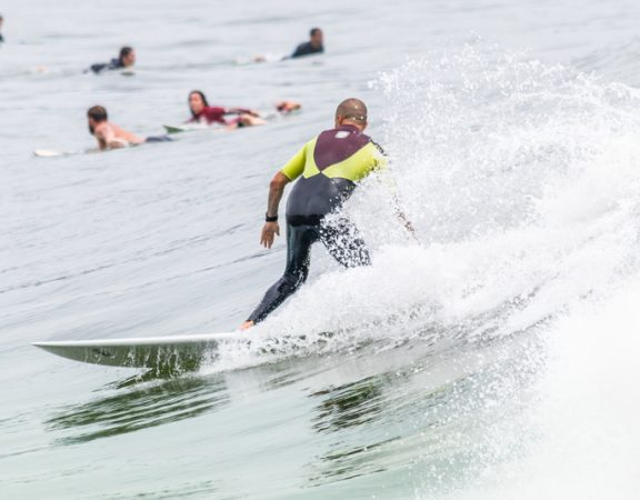 Boca Raton Homeowners Surf to Keep Fit