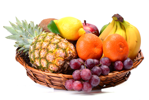 Basket of Fresh Fruit for Oviedo Real Estate Home
