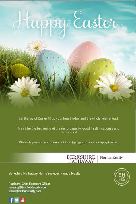 Happy Easter from BHHS Florida Realty