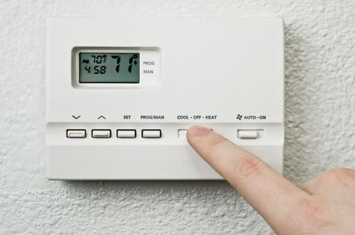 Thermostat in Boca Raton Luxury Homes