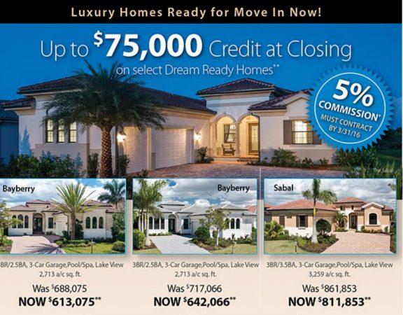 WCI Communities Fort Myers Luxury Homes