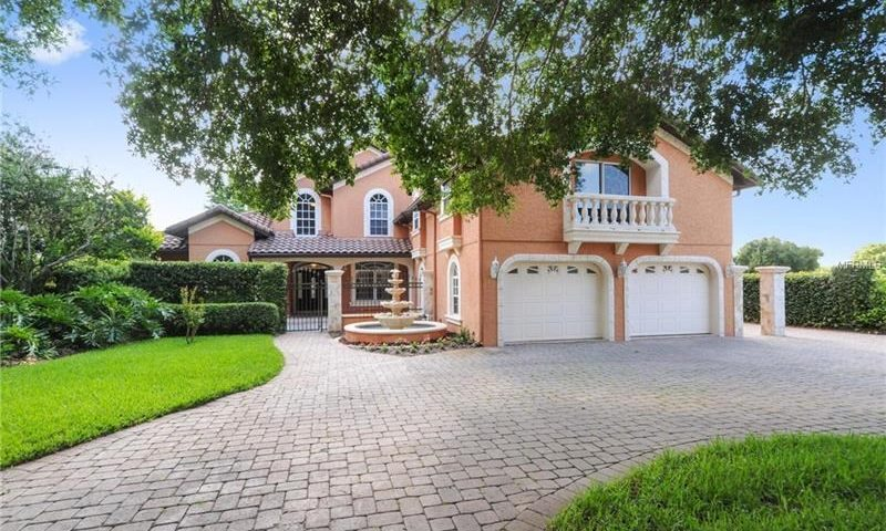 Windermere fl real estate home for sale listing spanish for Spanish mediterranean homes for sale