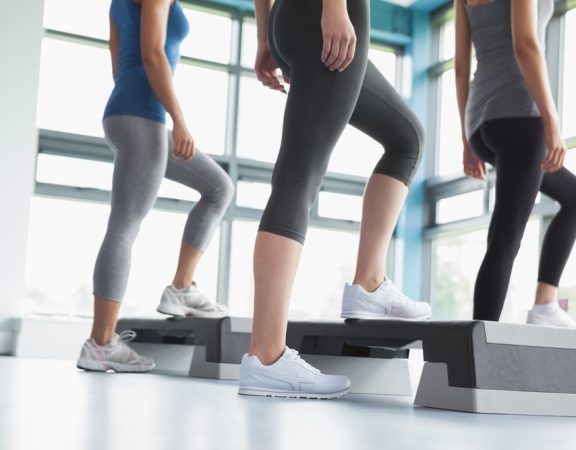Boca Raton Homeowners Try Step Classes