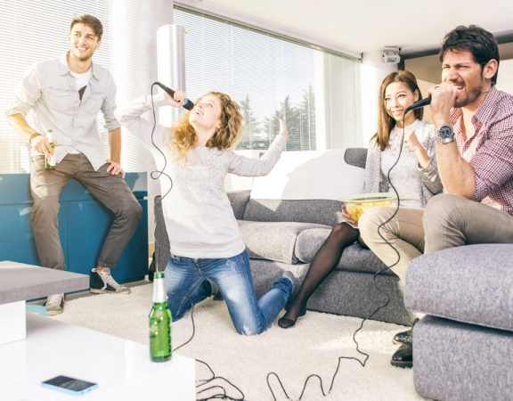 Weston Homeowners Get Fit Playing Guitar Hero and Rock Band