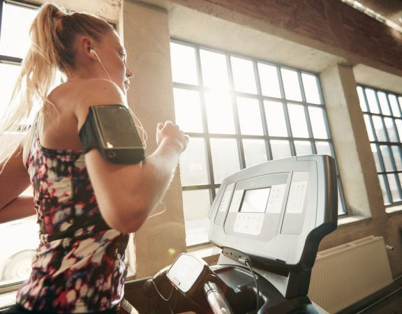 Parkland Homeowners Slim Down on Treadmills