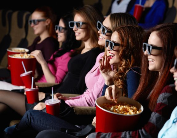 Weston Homeowners Eat Smart at the Movie Theater