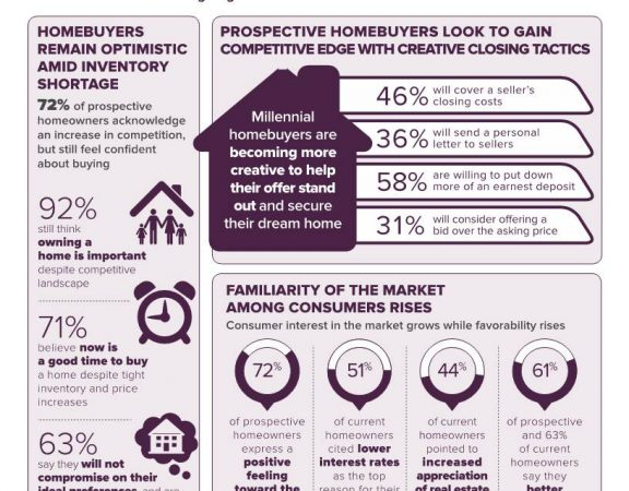 Homeowner Sentiment Survey Infographic