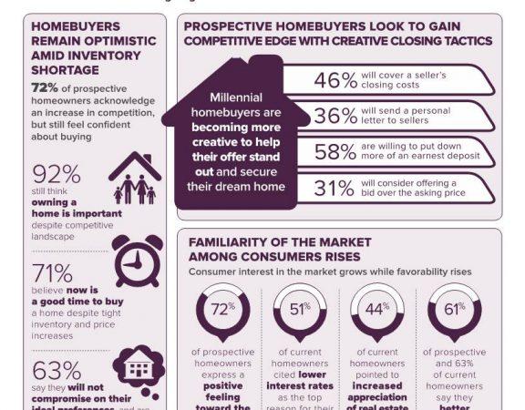 Homeowner Sentiment Survey Infographic