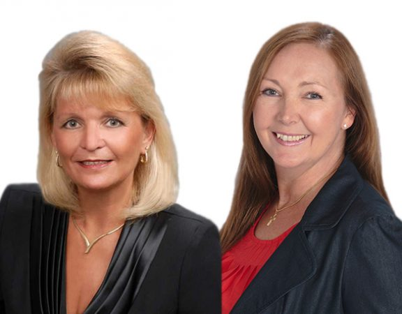 Anne Schneider & Nancy Taylor Receive Relocation Certification