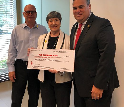 BHHS Florida Realty & AmeriSpec Raise Funds for Sunshine Kids